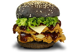 Double Premium Chicken Burger